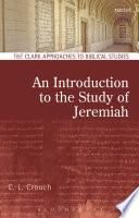 An Introduction to the Study of Jeremiah