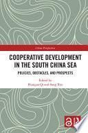 Cooperative Development in the South China Sea