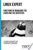 Functions of managing the login and the identifier