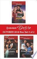 Harlequin Desire October 2018 - Box Set 2 of 2
