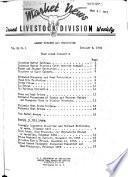 Livestock, Meat, Wool, Market News