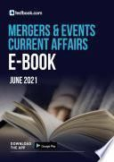 Mergers and Events Current Affairs Ebook- Download Free CA Notes PDF here