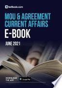 MoU and Agreement Current Affairs Ebook- Download Free CA Notes PDF here