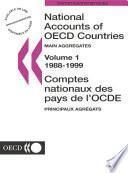 National Accounts of OECD Countries 2001, Volume I, Main Aggregates