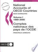 National Accounts of OECD Countries 2002, Volume I, Main Aggregates