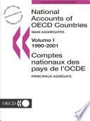 National Accounts of OECD Countries 2003, Volume I, Main Aggregates