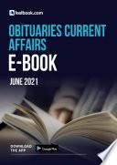 Obituaries Current Affairs Ebook- Download the CA Notes Free as PDF here