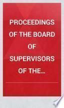 Proceedings of the Board of Supervisors of the County of Genesee