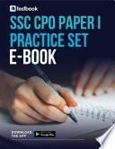 SSC CPO Practice Set Ebook for Paper I - Download as PDF Here!