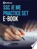 SSC JE Practice Set Ebook for ME - Download SSC JE ME Set as PDF!