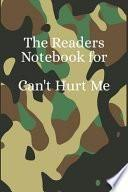 The Readers Notebook for Can't Hurt Me: A Writing Journal to Help You Master Your Mind and Defy the Odds