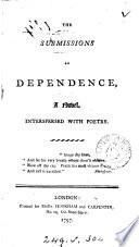 The submissions of dependence