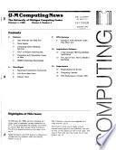 U-M Computing News