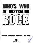 Who's who of Australian Rock